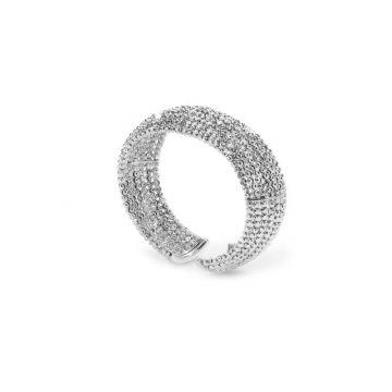 Officina Bernardi Sterling Silver Moon Cuff Bracelet